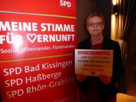 MdB Sabine Dittmar erhebt ihre Stimme der Vernunft