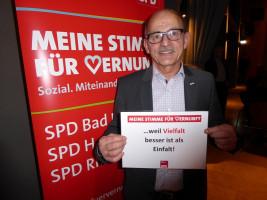 Egon Friedel erhebt seine Stimme der Vernunft
