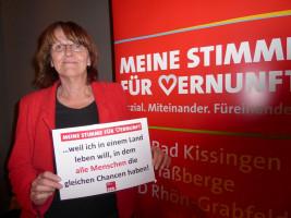 MdL Kathi Petersen erhebt ihre Stimme der Vernunft