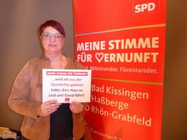Karen Pohle erhebt ihre Stimme der Vernunft