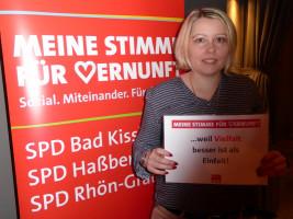Jasmin Reuter erhebt ihre Stimme der Vernunft