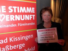 Rita Rösch erhebt ihre Stimme der Vernunft