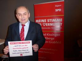 Alfred Schrenk erhebt seine Stimme der Vernunft