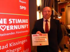 Wolfgang Stahl erhebt seine Stimme der Vernunft
