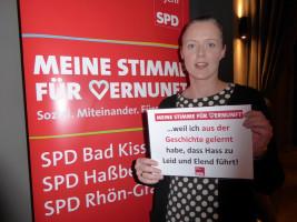 Julia Stürmer erhebt ihre Stimme der Vernunft