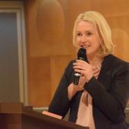 Manuela Schwesig hält die Festrede