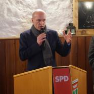 Regensburgs OB Joachim Wolbergs beim Neujahrsempfang der SPD Rhön-Haßberge