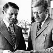 1958 übernachtete Helmut Schmidt in Zeil am Main